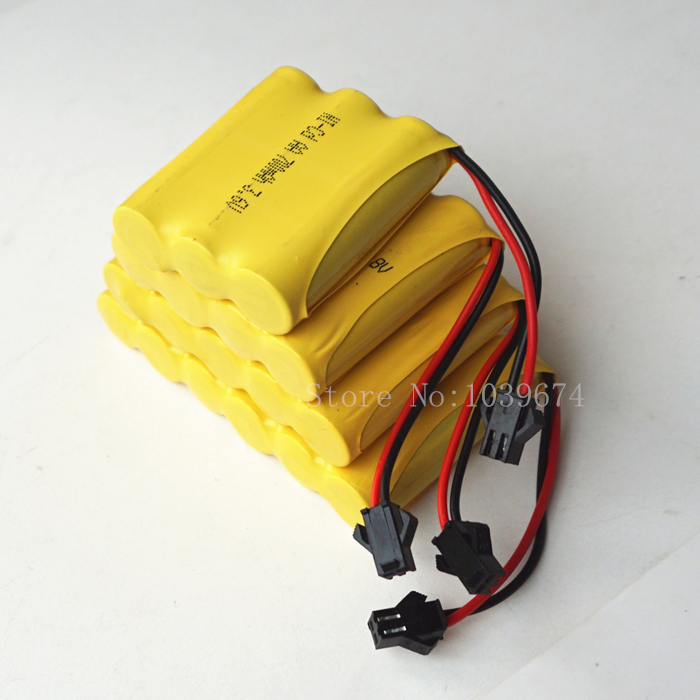 Toys Batteries 6V 700MAH AA Ni-CD Rechargeable Battery Packs Cells 4.8V Power Bank