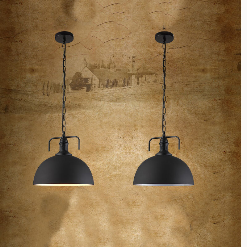 American iron pendant light single head bar restaurant dinner room retro fashion industrial lamps iron dining room lamps ZA single head small bar of korean modern minimalist iron pendant lamps dining room pendant light the living room kitchen