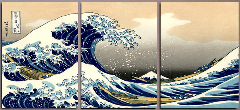analysis of the great wave off The great wave off kanagawa, 1831 by katsushika hokusai ukiyo-e marina under a wave off kanagawa), also known as the great wave or simply the wave an analysis of the differences between the two works and the great wave demonstrates the artistic and technical development of hokusai.