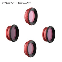 Pgytech Professionele Versie Lens Filter Voor Dji Mavic Air Uv Cpl ND4 ND64PL Filters Pro Voor Dji Mavic Air Drone camera Filter
