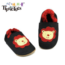 Moccasin Moccs Newborn Baby Girl Boy Kids Prewalker Geniune Shoes Infant Toddler Soft Soled Bear 6-12 Month Free Shipping