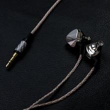 Nueva moda Moondrop Kansas Pro de Zinc aleación de magnesio de la dinámica de alta fidelidad en la oreja de alta fidelidad Monitor auriculares EarplugEarbud