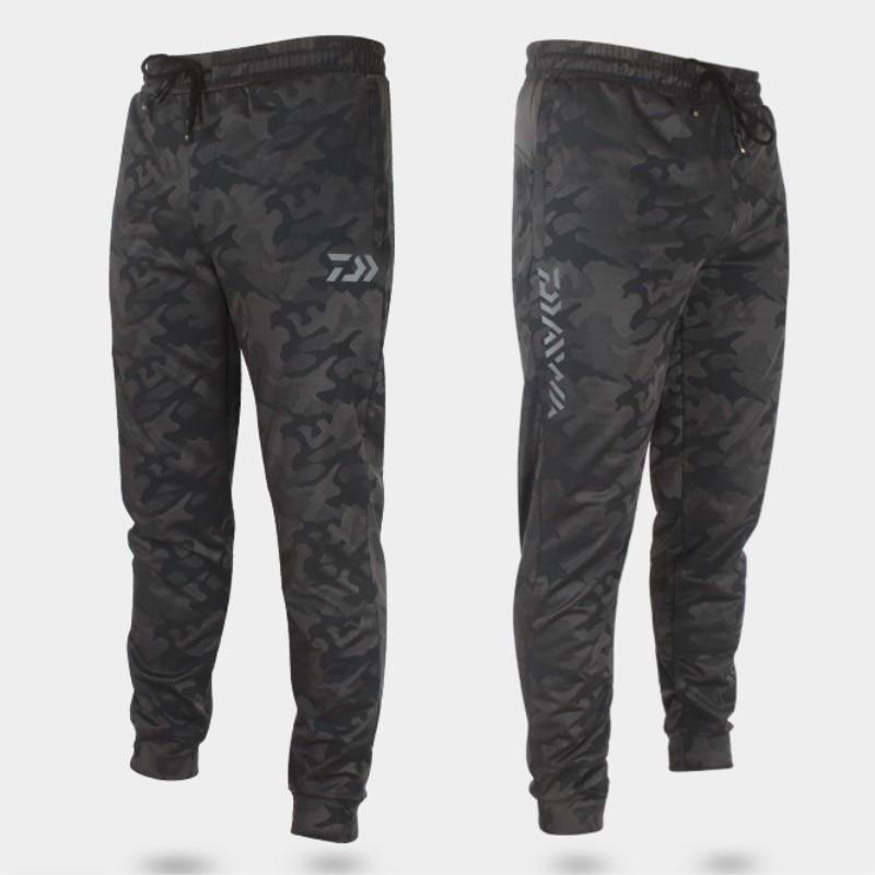 2017 NUOVO estate dei pantaloni di Pesca DAIWA DAWA Protezione Solare Traspirante luce Per Il Tempo Libero uomo di Bambù del carbone di legna materiale DAIWAS Trasporto libero