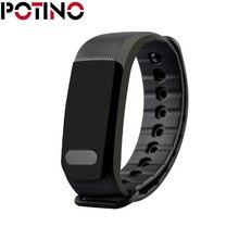 Potino A19 bluetooth сердечного ритма/сна Мониторы Потерянный напоминание IP65 Водонепроницаемый шагомер и сна Мониторы s браслет