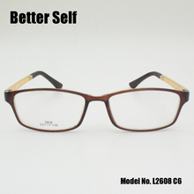 Better Self L2608 Optical Woman Glasses Frame Vintage PC Aros De Oculos Mens Accessories Rectangle 2017 Prescription Eyewear