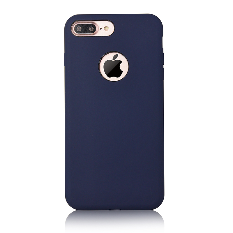 New Liquid Silicone Gel Soft Rubber For Iphone 7plus Case
