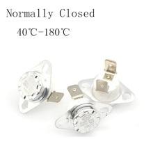 KSD302 16A 250V 40-180 градусов Керамика KSD301 нормально закрытый Температура переключатель Термостат 45 55 60 65 70 75 80 85