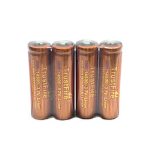 4pcs/lot TrustFire IMR 14500 700mAh 3.7V Lithium High Drain Rechargeable Battery Batteries For Led flashlights Torch