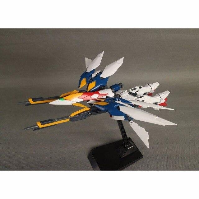 Anime Daban MG 1/100 Wing Gundam Zero EW Action Figure Endless Waltz XXXG-00W0 Puzzle assembled model 18cm Robot kids Puzzle toy 2