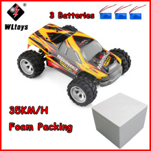 WLtoys A979-A RC High Speed Car 2.4GHz 2CH 1:18 4WD Buggy Off-road 35KM/H - RTR VS A959 A959-B A969 A969-B A979 A979-B