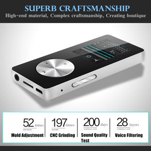 """Image 3 - 1.8"""" Wireless Bluetooth HiFi HD MP3 MP4 Player,Lossless Stereo Bass Mic Earphone,Fast Charge USB Cable,Speaker FM Record&TF Slot"""