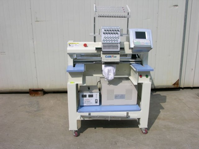 single head embroidery machine 400x500emb space,dahao computer system,guaranteed 100%quality,free spare parts,free 5 sizes frame