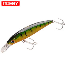 Купить с кэшбэком NOEBY Minnow Fishing Lure 12cm 22g Wobblers Trolling Lure Swimbait Iscas Artificiail Para Fishing Tackle 10cm 13.6g NBL9006