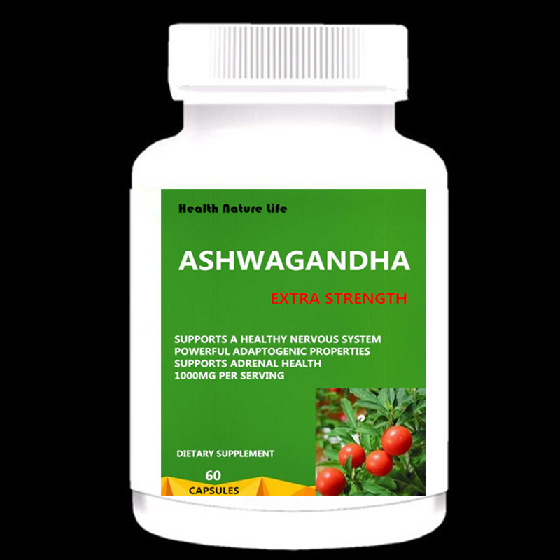 Organic Ashwagandha 1000mg - Supplement For Stress Relief, Anxiety Support & Mood - Black Pepper Extract