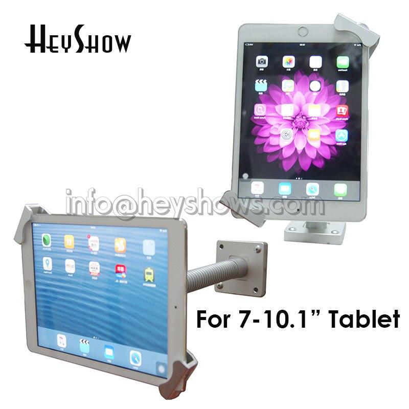 Блокировка для планшета Ipad, гибкий держатель для планшета, блокировка, блокировка планшета, киоска, Настольная Противоугонная стойка для планшета 7-10,1 дюймов-0