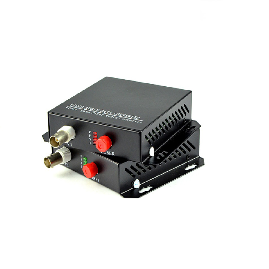 1CH +RS485 Data digital Video Optical converter fiber optic video optical transmitter and receiver multiplexer