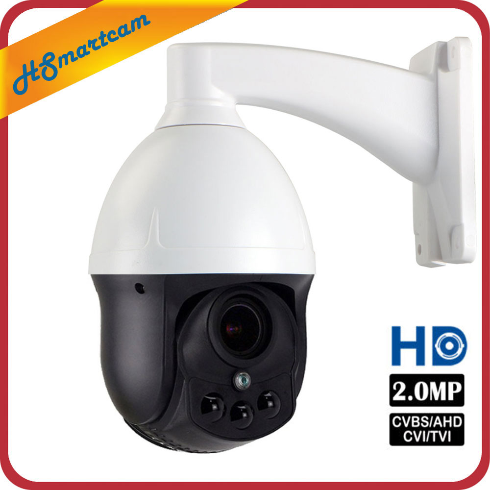 New Outdoor CCTV Security AHD 1080P 2.0MP Mini Waterproof Dome PTZ Camera 4X ZOOM 2.8 8mm Lens Auto Focus PanTilt Rotate Camera