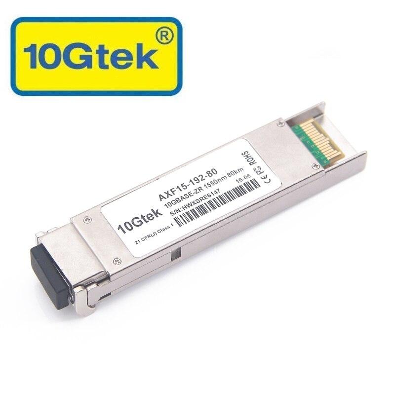 XFP-10GZR-OC192LR EX-XFP-10GE-ZR JD107A 10GBase-ZR / -ZW i OC-192 / - Sprzęt komunikacyjny - Zdjęcie 1