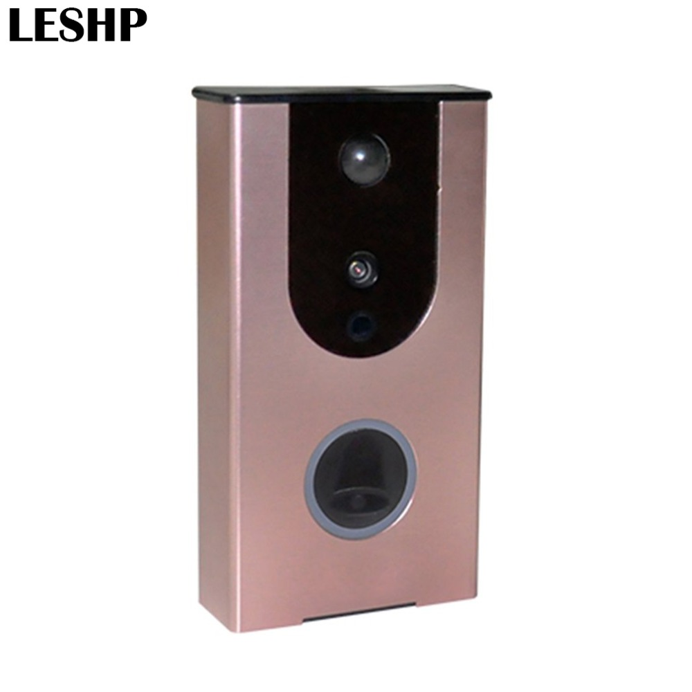 Wifi Video Doorbell Outdoor Battery Camera PIR Motion Detection Alarm Night Vision Wireless Door Intercom Support TF Card