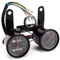 Dual Color LED Backlights Sinal Digital Motocicleta Odômetro Velocímetro Tacômetro Calibre 0 ~ 160 km/h 13000 RPM LED Backlight Conjunto