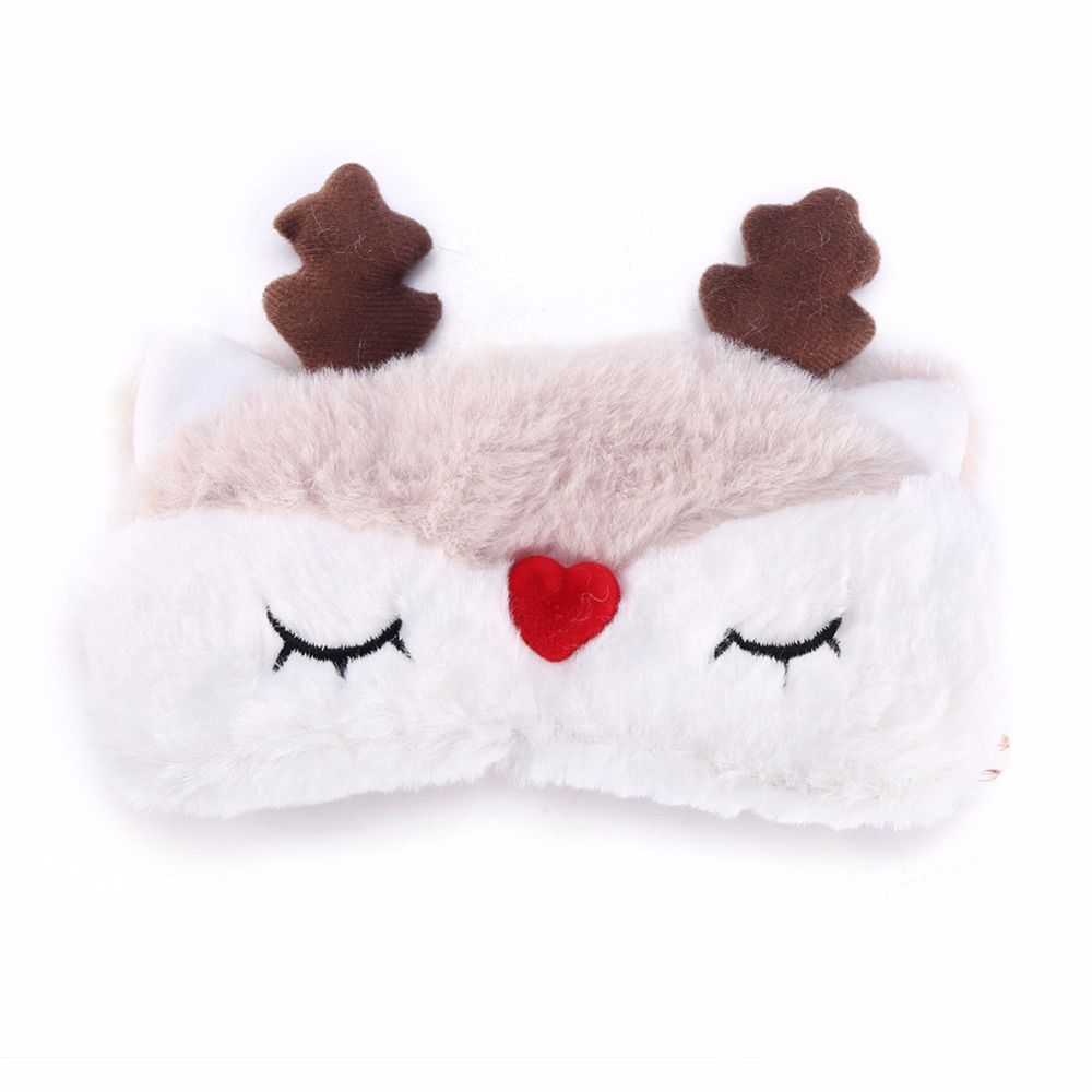 Christmas-Deer-cute-animal-eye-cover-Plush-Fabric-Sleeping-Mask-Eyepatch-Winter-Cartoon-nap-Eye-Shade (3)