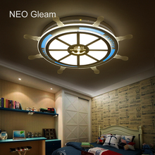 NEO Gleam Children Pirate Dreaming Modern Led Ceiling Lights For Room AC85-265V Deco Lamp iluminacion