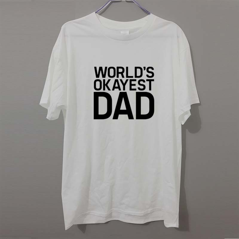 orlds okayest dad mens - 800×800