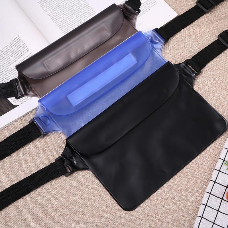 Beach Waterproof Waist Bag Outdoor Diving Swimming Waist Bag Beach Unisex Swimming Drifting Sealed Phone Pouch Dropshiping in Surfing Bags from Sports Entertainment