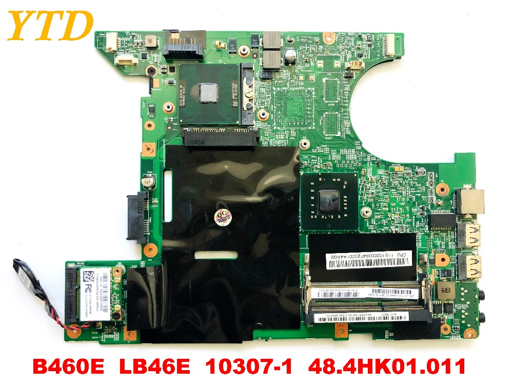 Original for Lenovo B460E laptop motherboard B460E  LB46E  10307-1  48.4HK01.011 tested good free shipping  Original for Lenovo B460E laptop motherboard B460E  LB46E  10307-1  48.4HK01.011 tested good free shipping