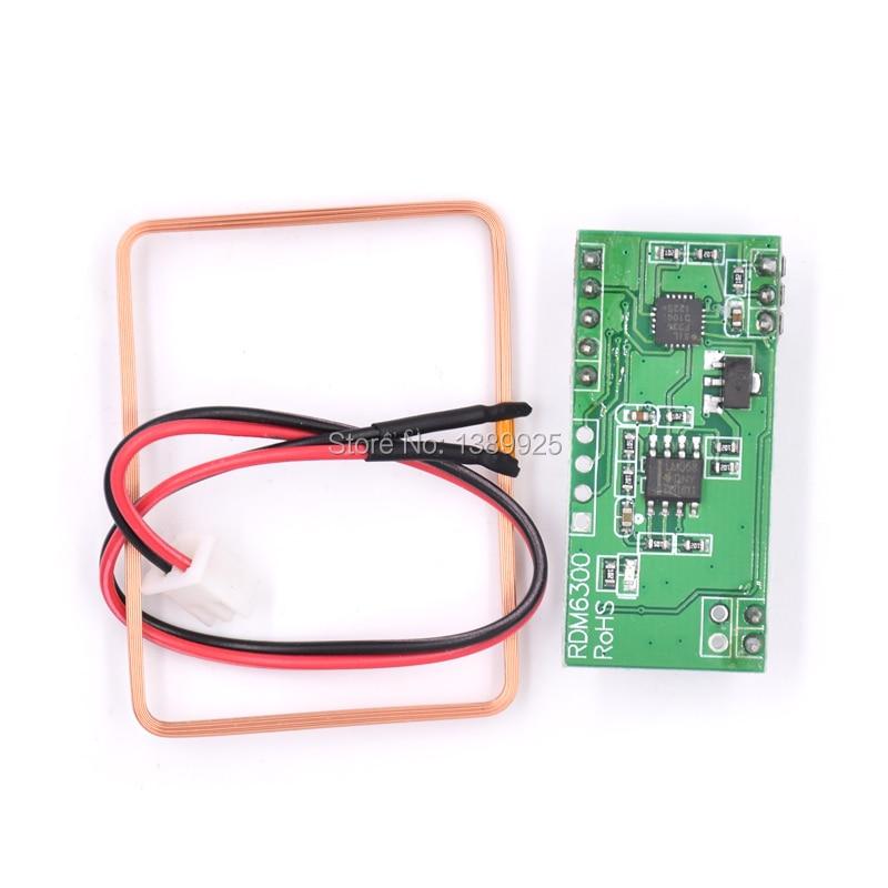 125KHz EM4100 RFID Card Read Module RDM630 UART Compatible Ar-duino