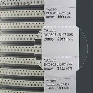 Image 1 - 0805 مقاوم SMD و Kondensator عينة كتاب النسخة الكاملة