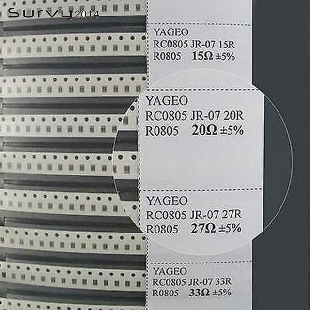 0805 مقاوم SMD و Kondensator عينة كتاب النسخة الكاملة