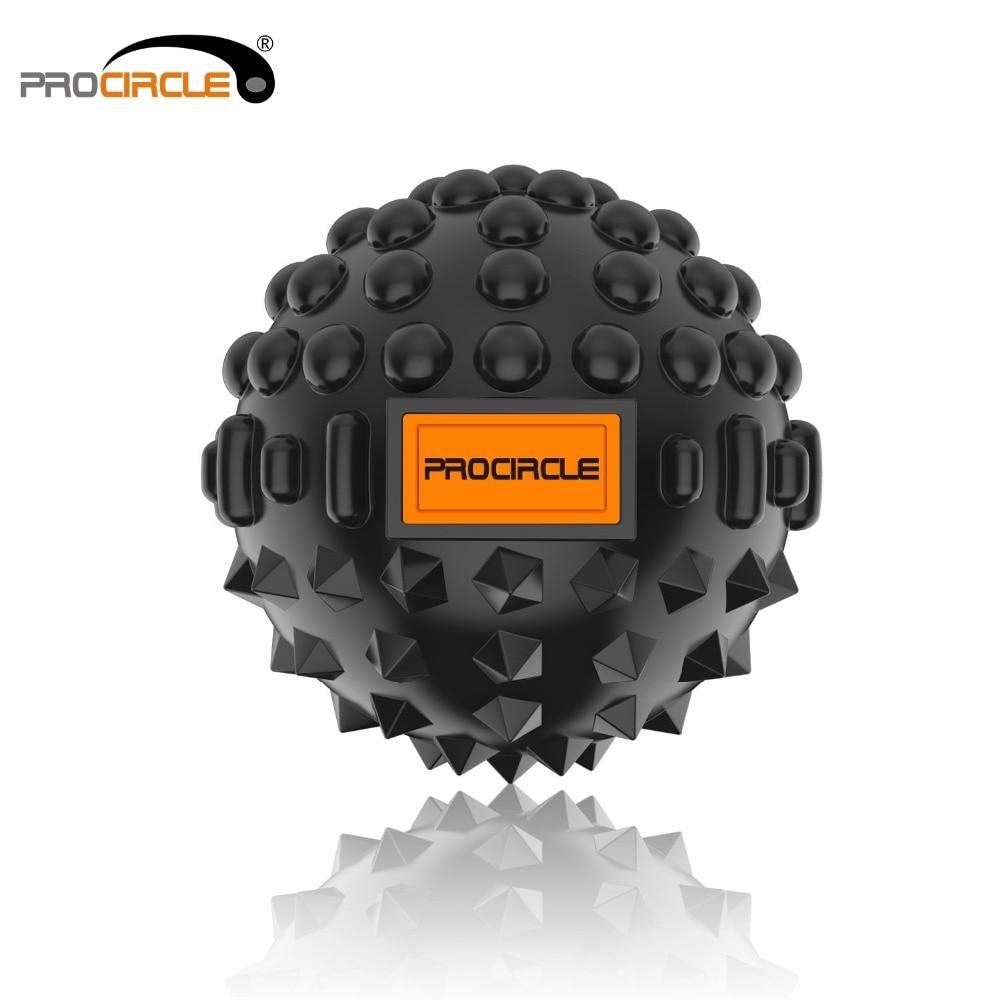 ProCircle PU balles de Fitness boule de Massage tissu profond auto-myofascial libération Dia-8CM
