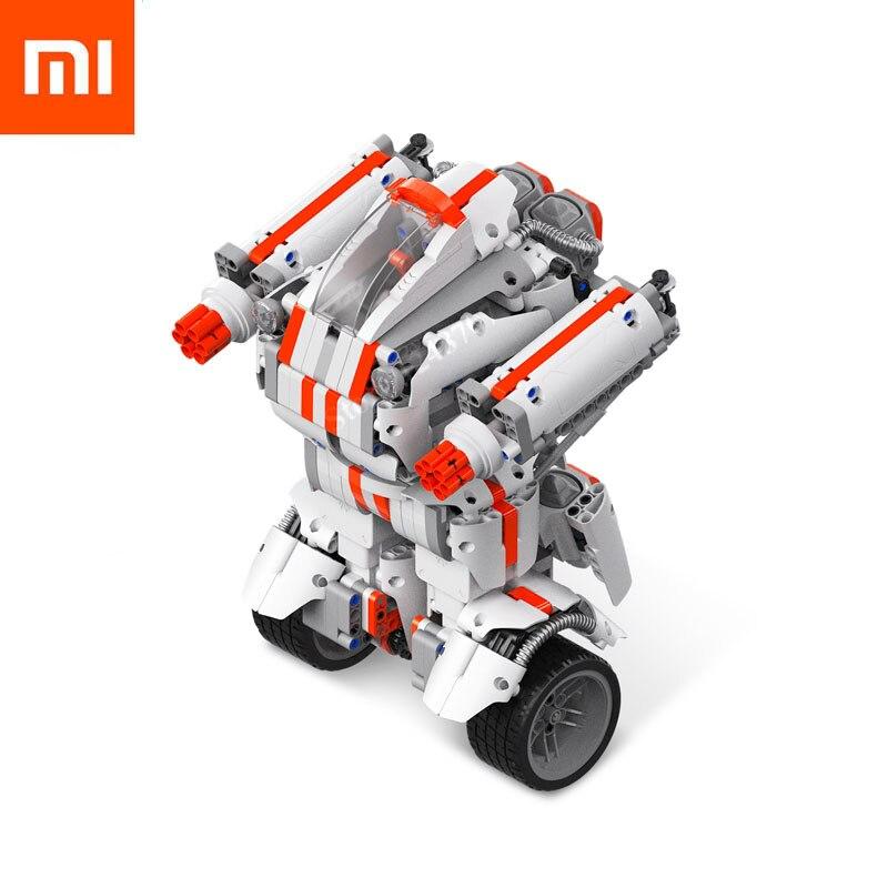 Xiaomi Миту робот Building Block Робот Bluetooth мобильного удаленного Управление 978 запасных Запчасти Self баланс Системы модуль программы