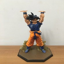 free shipping Figures Songoku Genki damaSpirit Bomb ZERO car toy decoration  Mini dragon ball doll children toy figure