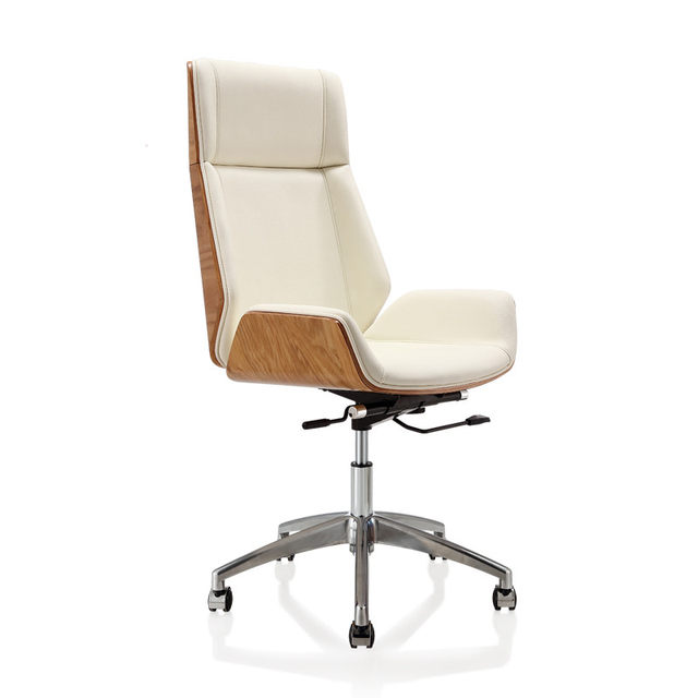 Reclning High Back Bentwood Swivel Office Computer Chair Micro Fiber  Leather Office Furniture For Home,Conference Task Armchair