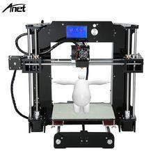 3d imprimante Reprap Prusa i3 DIY A6/A8 Option 3D Imprimante Kit avec 10 M/1 Rouleau Filament 8 GB Carte Vidéo LCD Écran Outils Pour livraison