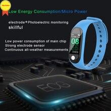 2019 original factory ECG smartband real heart rate monitoring blood pressure oxygen multi sport waterproof smart bracelet