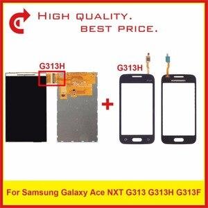 "Image 2 - Hoge Kwaliteit 4.0 ""Voor Samsung Galaxy DUOS Ace NXT G313 G313H G313F Lcd scherm Met Touch Screen Digitizer Sensor panel"
