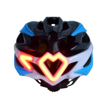 Cycling Motorcycle Helmet with LED Turn light Remote Control Helmet Integrally molded Road Bicycle Helmet With