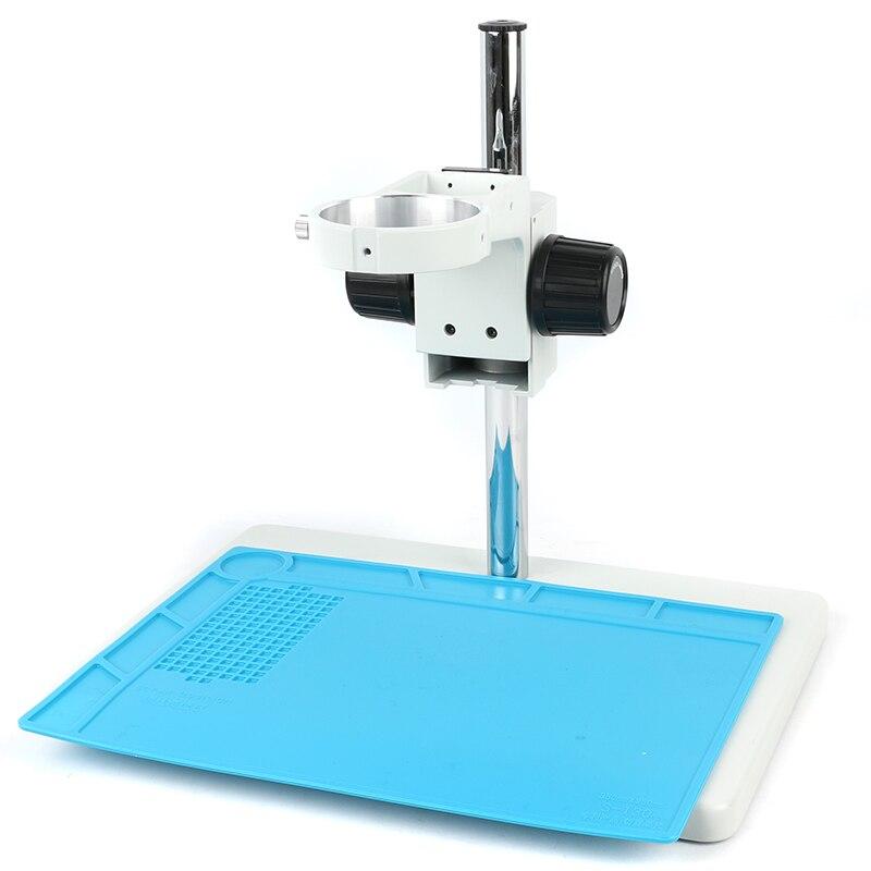 Grand support de Table de bras stéréo de Boom réglable résistant de grande taille 76mm porte-anneau pour la caméra de Microscope stéréo industrielle de laboratoire
