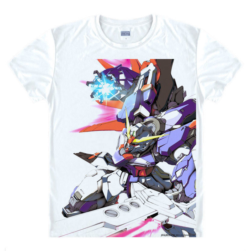 Gundam Double O T-Shirt Celestial Being Shirt High Quality T-Shirts anime gift cute gift ...