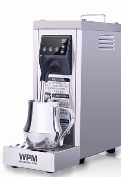 Lait vapeur Welhome MS-130T acier Inoxydable lait machine à mousse pompe presse machine Entièrement automatique Une mise à niveau lait machine à mousse