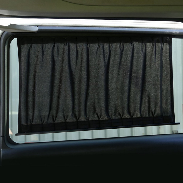 New 2 Pieces Automobile Sunshade Curtains Vehicle Blinds Cover Car