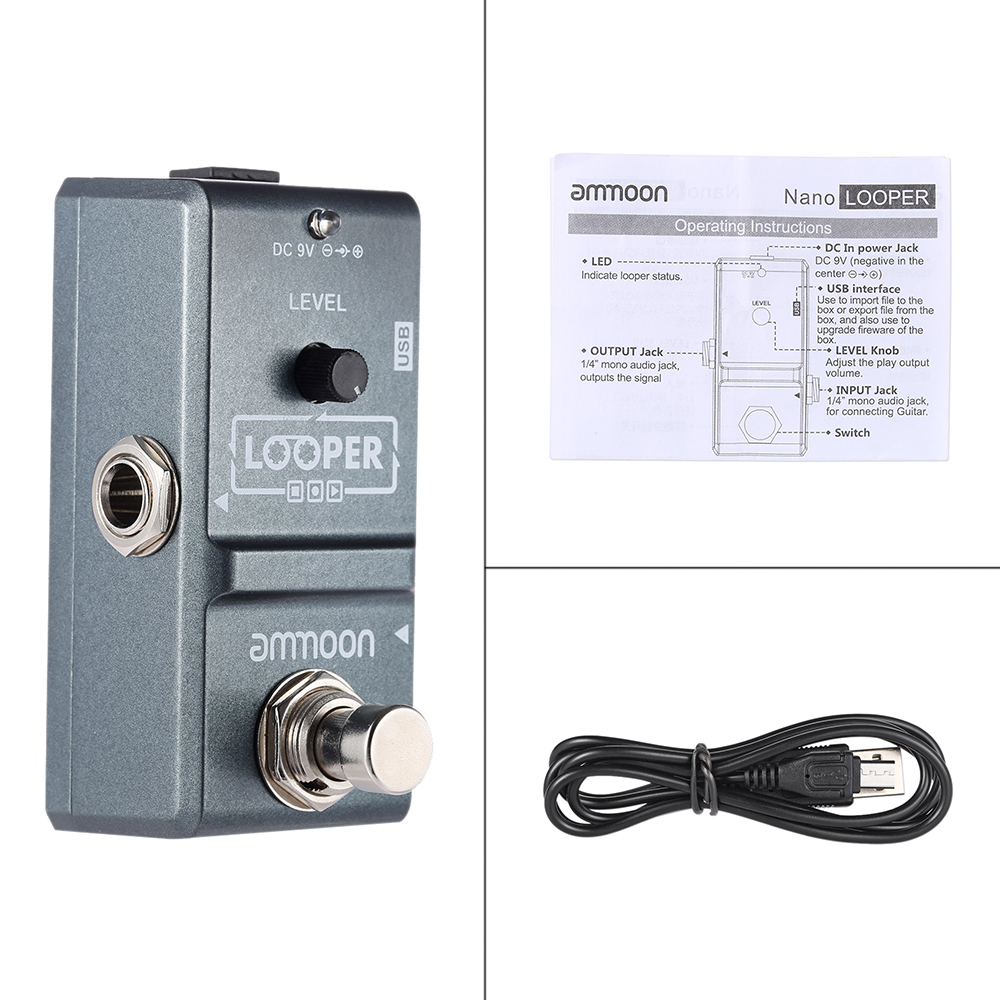 Ammoon Ap 09 Nano Series Loop Effect Looper Electric Guitar 130 96 Wiring Diagram 1 We Accept Alipay West Union Tt All Major Credit Cards Are Accepted Through Secure Payment Processor Escrow 2 Must Be Made Within 3 Days Of