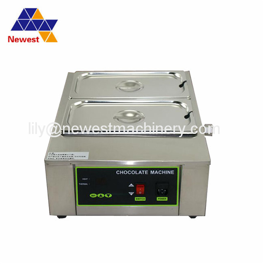 Commercial stainless steel melting furnace hot chocolate machine chocolate melting maker DIY