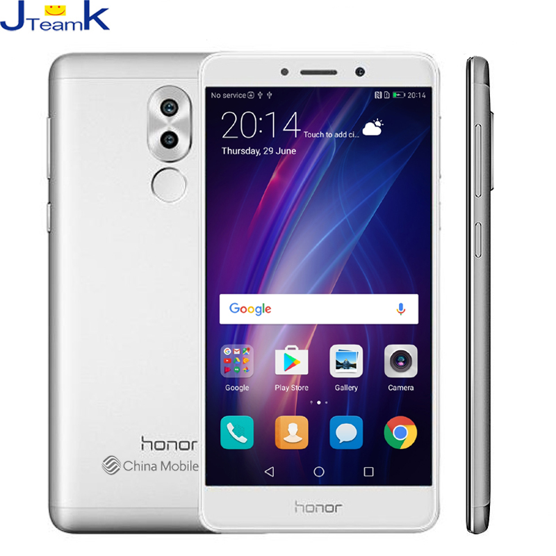 Original Huawei Honor 6X 4GB 64GB Global Firmware Dual Rear Camera 12MP mobile phone Octa core 5.5 inch 1920*1080pix FingerPrint