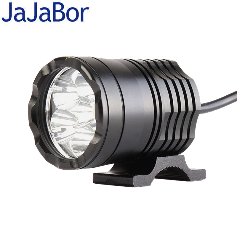 Led Spotlight Headlamp: Aliexpress.com : Buy JaJaBor Motorcycle LED Headlight High
