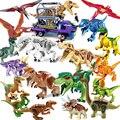 Jurassic World 2 Dinosaurs Figures Tyrannosaurus Rex Building Blocks Dinosaur Bricks Toys Model Compatible with Legoings