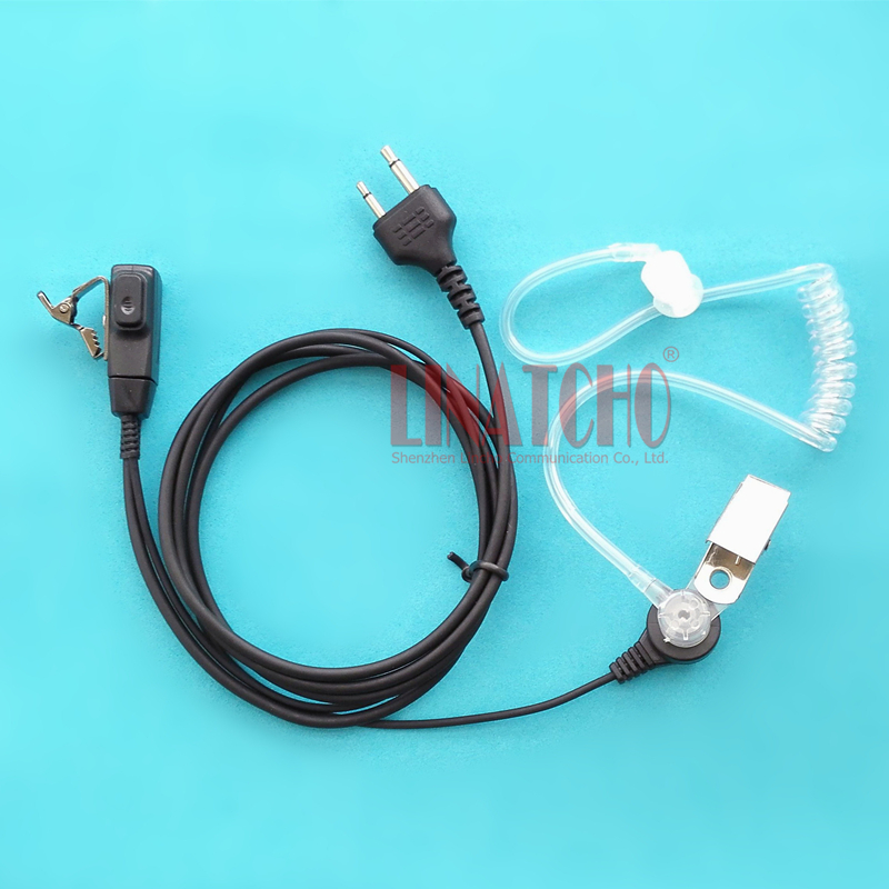 two way radio press to talk 2PIN Acoustic C450C150 IC-V8 IC-F21 IC-F26 walkie talkie racing headset
